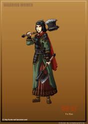 Warrior Women: General Fu Hao by Hunter-Wolf
