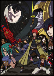 Outlaw Star - Through The Night (Contest) by Hunter-Wolf
