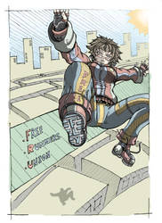 FreE RunnerS by Hunter-Wolf