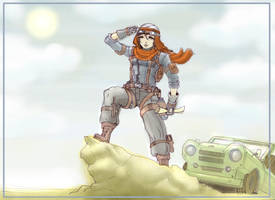 Jasmin_The_Adventurer by Hunter-Wolf