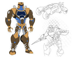 Dynobot (Dinobot) by Ovlar