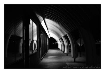 Tunnelled sidewalk by MichelleMarie
