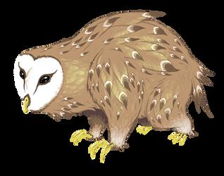 Owlbear by FutureDami