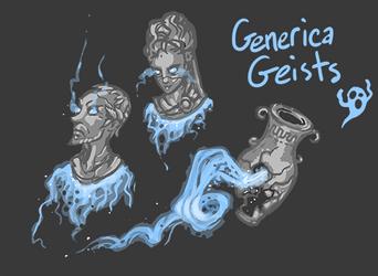 Geists by FutureDami