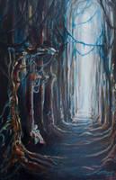 The Hounted Cloister by gorakart