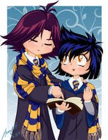 Hogwarts Slayers: Eris+Rezo by lady-narven