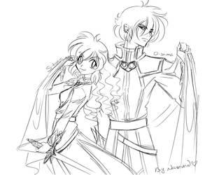 S+D sketch by lady-narven