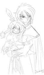 ChibiS+D sketch by lady-narven