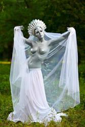 Princess Snow Kaguya by lady-narven