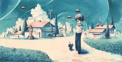 Technicolor Dream III by XkY