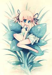Blue Flower by XkY