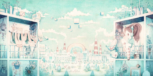 Technicolor Dream IV by XkY