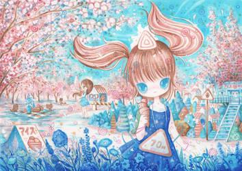 Vanilla Blue by XkY