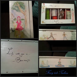 Fairy tale tea box by realtimeartist