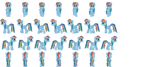 %Rainbowdash by Fluttershyponygal