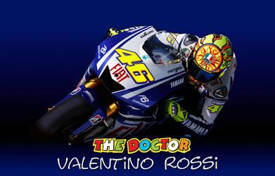 Valentino Rossi Vector by LuigiLA