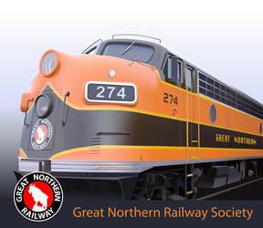 Great Northern Railway by LuigiLA