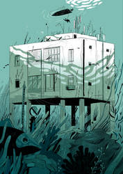Deep sea blcok - colors by ZigiCreator