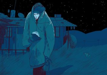 Walking the dog by ZigiCreator