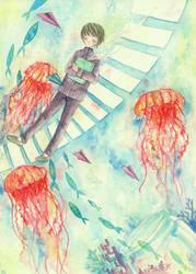 jellyfish dream by yuuta-apple