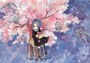 Sakura by yuuta-apple