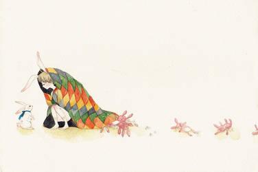 White Rabbit by yuuta-apple