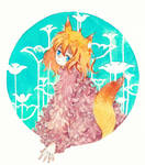 Commission for Pinkfluff-kitsune by yuuta-apple
