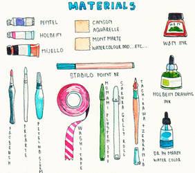 My materials by yuuta-apple