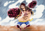 Luffy D.Monkey - FOURTH GEAR by Advance996
