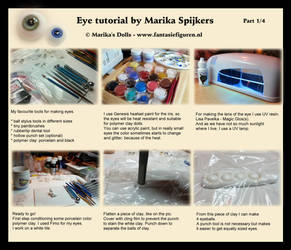 Realistic doll eye tutorial Part 1 by Marika-Spijkers