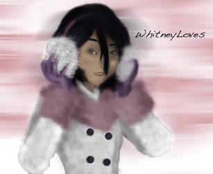Rukia by whitneyloves
