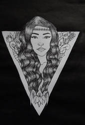 Queen of Nature by RashaKhabbazeh
