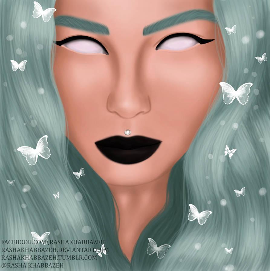 Butterflies by RashaKhabbazeh