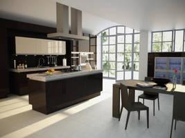 Kitchen by Arthondar
