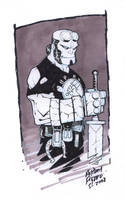 HellBoy by Kid-Destructo