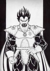 King Vegeta by Kid-Destructo