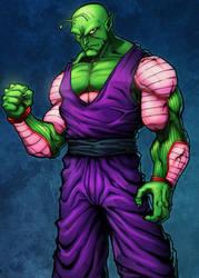 Piccolo Colored by Kid-Destructo