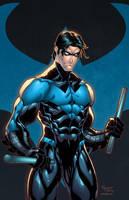 Nightwing blue by Kid-Destructo