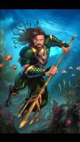 JL Aquaman  by Kid-Destructo