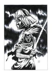 Kilo Rein and Darth Vader by Daniel-Alexandre