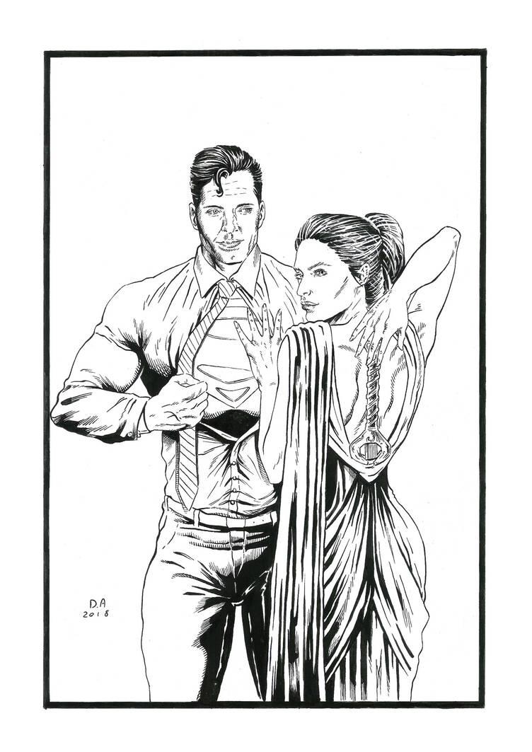 Clark and Dianna by Daniel-Alexandre