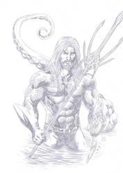 Aquaman fanart by Daniel-Alexandre