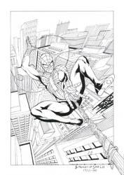 Spiderman PS4 fanart by Daniel-Alexandre