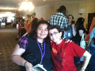 Tiffany Grant and I by Caseydraft001