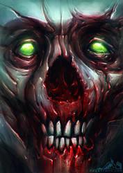 Undead Face 001 by noistromo