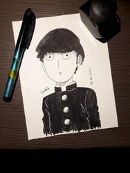 [Inktober2017] #30 Anime Character by BlueCookieVirus