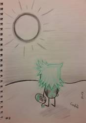 [0010] How is the Sun Up Already? by BlueCookieVirus