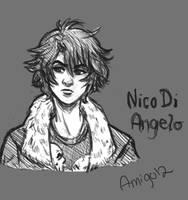 Nico Di Angelo doodle by Amigo12