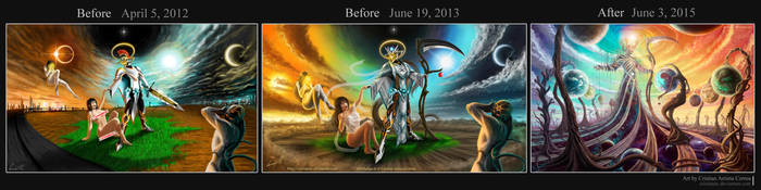 Draw It Again 6 - The Creation by CristianAC