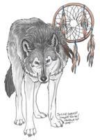 ArtTrade: SpiritWolfen by NightTracker
